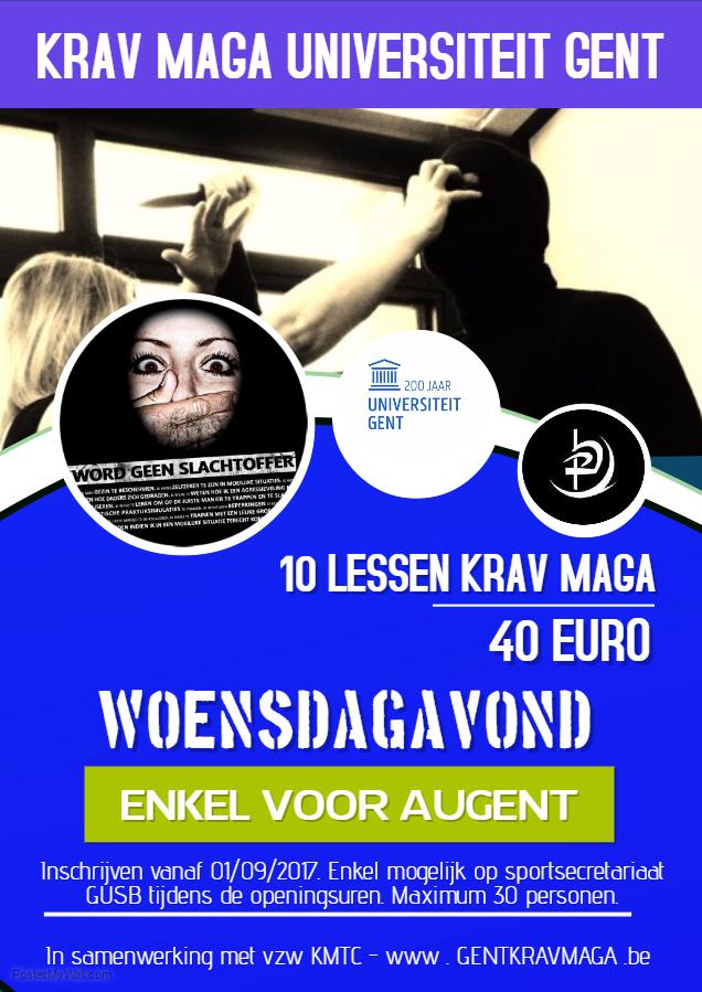 Krav Maga Universiteit Gent A4
