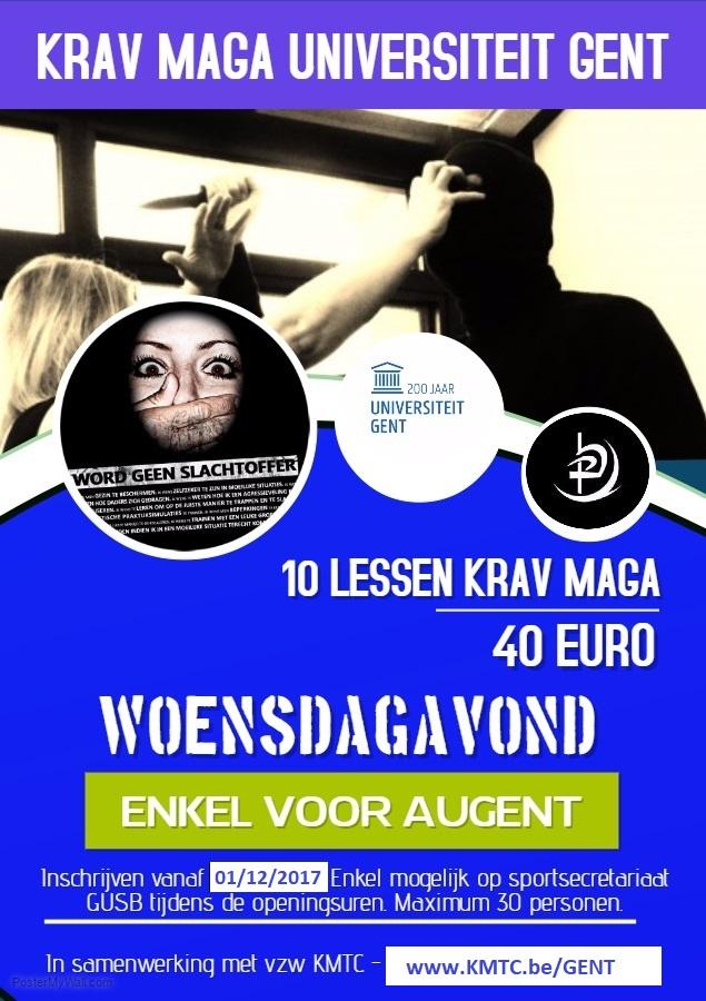 Krav Maga Universiteit Gent A3 bis